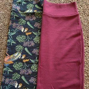 BARGAIN BIN🎁  Two 2x Cassie skirts